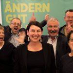 Haben Spaß an ihrem Job: RegionalsprecherInnen der Grünen Wirtschaft