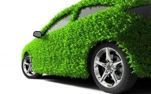 Grünes Auto, Stilbild