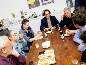 Kick-off der Grünen Neubau-UnternehmerInnen mit Regionalsprecher Hans Arsenovic
