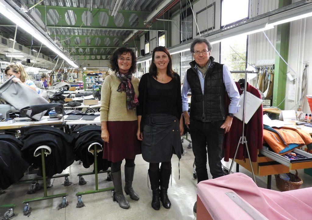 Sabine Jungwirth besucht JMB Fashion in Feldbach