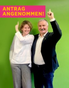 Rita Newman und Christian Schrefel