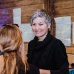"Claudia Bruckschwaiger beim ""Startup Live""-Event"