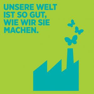 Aktueller Folder der Grünen Wirtschaft