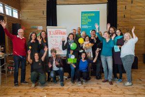 Die Grüne Wirtschaft Burgenland mit UnterstützerInnen