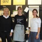 Die GW Steiermark mit ANDREA PAVLOVEC-MEIXNER auf Lokalaugenschein mit grünen Unternehmerinnen