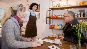 Josef Scheinast, Regionalsprecher der Grünen Wirtschaft Salzburg, besucht Grüne UnternehmerInnen