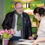 Regionalsprecher der  Grünen Wirtschaft Salzburg Josef Scheinast zu Besuch bei Mitgliedern