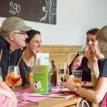 Bundessprecherin Sabine Jungwirth mit grünen UnternehmerInnen in Tirol