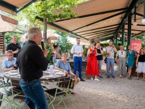 Sommerfest der Grünen Wirtschaft Wien mit Regionalleiter Hans Arsenovic