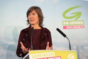 die neue Spitzenkandidatin Birgit Hebein, Foto: Grüne Wien.