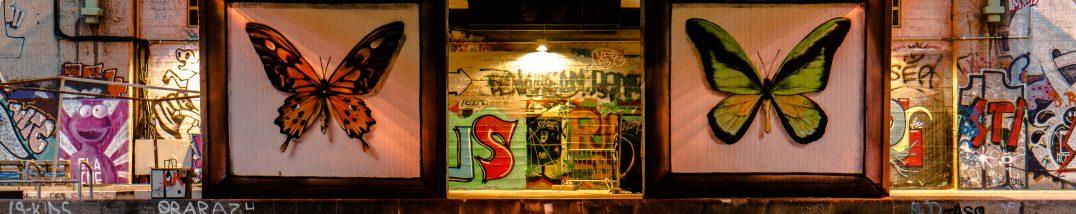 Graffiti am Donaukanal, Wien