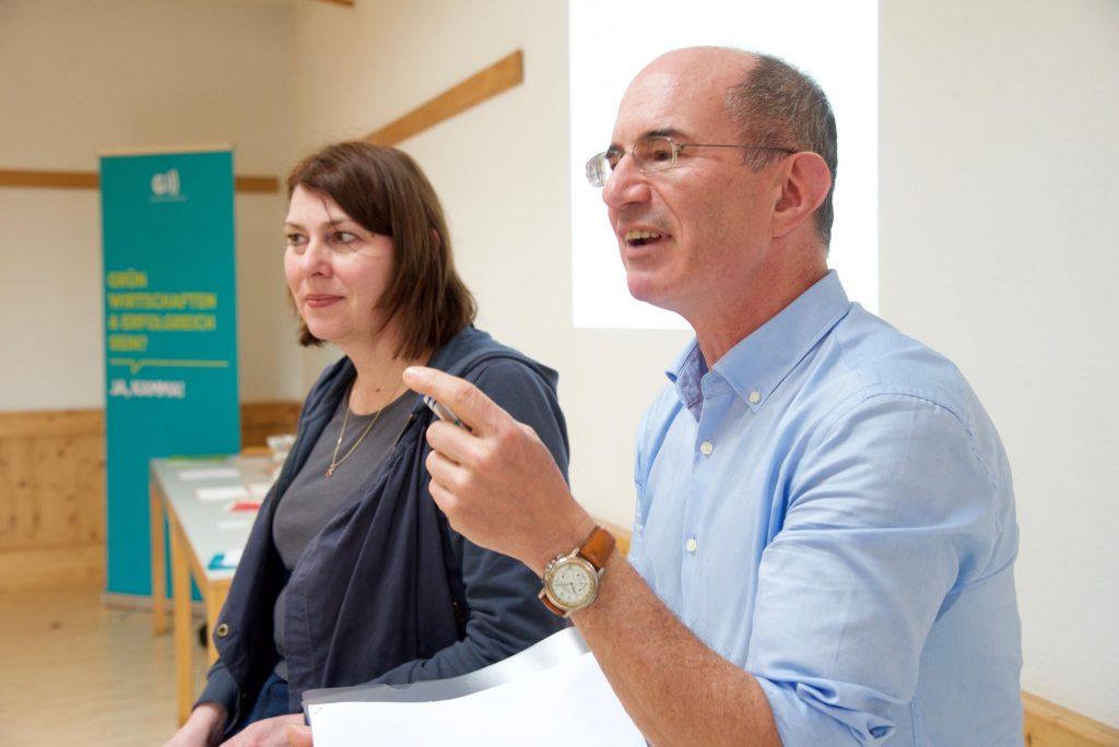 Eric Frey und Sabine Jungwirth, Foto: Claus Muhr