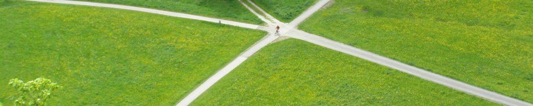 Wegkreuzung, Foto: pixabay