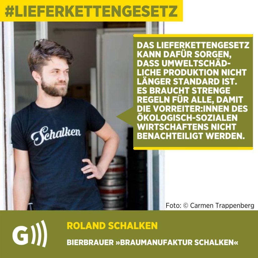 Lieferkettengesetz Roland Schalken